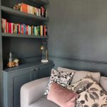 Alcove units and floating shelves